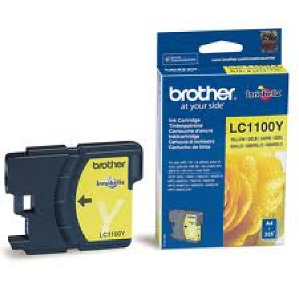 TINTA AMARILLA  BROTHER LC1100Y